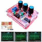 Generador de funciones de señal XR2206 DIY Kits + Caso Triángulo senoidal cuadrado 1Hz-1MHz