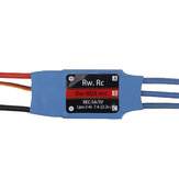 2/4/6 PCS RW.RC 80A Brushless ESC 5V5A BEC 2S-6S for RC Models Fixed Wing Airplane Drone