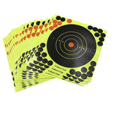 10PCS Shooting Adhesive Targets Splatter Reactive Target Sticker Paper  20*20CM