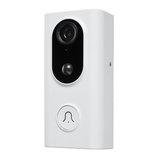 Inteligentny bezprzewodowy dzwonek do drzwi wideo Bezprzewodowy zdalny nadzór domu Wideo domofon głosowy