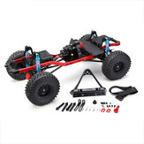 SCX10 1/10 4WD Pre-assembled CNC Frame RC Car Crawler Parts Straight Bridge Version
