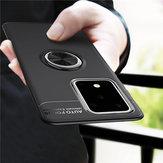 BakeeySupportoperanellomagneticorotante a 360 ° Soft Custodia protettiva antiurto in TPU per Samsung GalaxyS20Ultra