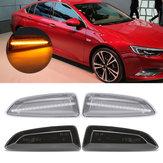 LED Yan Işaretleyici Işıkları Açın Gösterge Lambaları Opel Vauxhall için Çifti Sarı