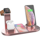 4 In 1 Qi Wireless Charger Phone Charger Uhr Charger Earbuds Charger für Qi-fähige Smartphones für iPhone für Samsung Apple Watch Apple AirPods Pro