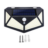 2 / 4Pcs 100 LED Solar Power Wasserdicht PIR Bewegungssensor Solar Light Outdoor Gartenlampe