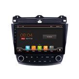 YUEHOO 10.1 İnç 2 DIN Android 8,0 Araba Stereo 2 + 32G Quad Core MP5 Çalar GPS WIFI 4G AM RDS Radyo Honda Accord 2003-2007 için