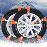 Cinghia di messa a terra per sabbia di emergenza per auto skid pneumatico per auto da neve Anti universale da 2 pezzi
