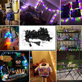 AC110V 220V 4.5M Colorful Warm White 40LED Globe Ball Fairy String Light Garden Party Wedding Decor