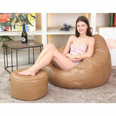 20 * 50cm Faux Leather Giant Adult Bean Bag Seat Bean Bag Leather Footstool Coat