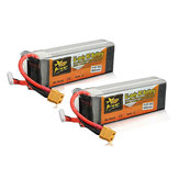 2Pcs ZOP Power 14.8V 3500mAh 4S 60C Lipo Batterie XT60 Plug pour avion RC