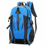 Extra Large Nylon Backpack With USB Port Travel Hiking Camping Waterproof Motorcycle Bike Riding Bag