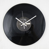 12 Inch Retro Classic Fonógrafo de vinilo Grabar álbum Pared Reloj Decoración para el hogar Regalo
