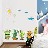 Miico FX64044 Quarto das crianças e jardim de infância adesivo de parede decorativo dos desenhos animados adesivos diy adesivos