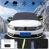 Car Sunshade Windscreen Windshield Cover Frost Snow Sun Shield Window Mirror Protector