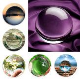 100mm claro redondo vidro artificial de quartzo natural cura mágica bola de cristal decorações