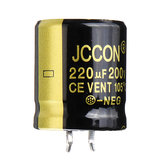 220UF 200V 22x25mm Radial Aluminium Electrolytic Capacitor High Frequency 105°C