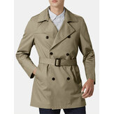 Mens new Middle Style Slim Fashionable Trench Coats