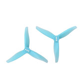 2 pairs gemfan 3016 3 بوصة 3-blade الكمبيوتر Propeller 1.5mm / 2mm Hole for Hurricane Toothpick RC Drone FPV Racing