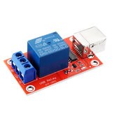 1 Channel 5V HID Driverless USB Relay USB Control Switch Computer Control Switch PC Intelligent Control Relay Module