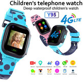 Y95 4G Child Smart Watch Phone GPS Waterproof Kids Smart Watch WiFi Anti-lost SIM Locator Tracker HD Video Call