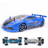 ZD Racing Pirates3 TC-10 1/10 2.4G 4WD 60km / h RC Auto Elektro Brushless Tourning Fahrzeuge RTR Modell