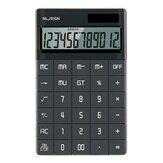 NUSIGN NS041 Kalkulator biurkowy Duży ekran LCD 12-cyfrowy kalkulator Solar / bateria Podwójnie zasilany dla Business Finance Office School from XM