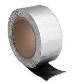 Hilda 5x500cm Feuille d'aluminium Ruban en caoutchouc butyle Ruban auto-adhésif Sun Room Color Tile Steel Tape Concrete Tape