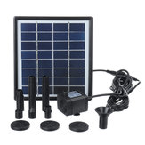 2W Solar Fountain dompelpomp Solar Waterpomp Tuinfontein dompelpomp met zuignappen
