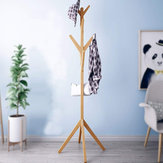Wooden Coat Stand Rack Cloth Hanger Hat Tree Vintage Jacket Bag Umbrella Holder Cloth Rack