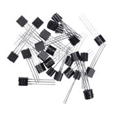150pcs BC547+BC557 Each 75pcs BC547B BC557B NPN PNP Transistor TO-92 Power Triode Transistor Kit Bag