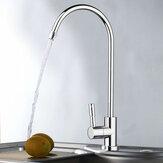 1/4 de polegada de cromo beber RO torneira do filtro de água acabamento cozinha de pia de osmose reversa