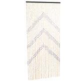 90x180cm竹木製ドアカーテンブラインドフライバグスクリーン装飾ルームディバイダー