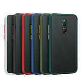 Bakeey Armor Shockproof Anti-fingerprint Matte Translucent Hard PC&Soft TPU Edge Protective Case for Xiaomi Redmi 8 Non-original
