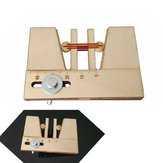 Outils de fixation d'outil d'amarrage pour les yeux morts en bois pour le kit de modèle de navire en bois