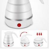 600ml Travel Water Kettle Electric Foldable Portable Boiler Machine Food Grade Silicone Boil Dry Protection