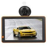 T19 9 inç Oto Real Zaman Sesli İstemi Araba HD Dokunmatik Ekran GPS Navigasyon FM Ses Video Eğlence Oyunları MP4 Çalar