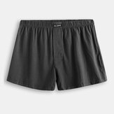 Mens Casual Home Boxers Cotton Arrow Shorts Loose Underwear