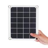 DC18V 20W لوحة للطاقة الشمسية المحمولة 2 USB لوحة للطاقة الشمسية القوة ميناء