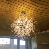 Modern LED Chandelier Firework Pingente Luz de teto Decoração da casa