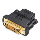 Vention DVI Adaptador HDMI DVI 24 + 1 para Conversor HDMI Macho para Fêmea 1080P HDTV Conector para PC PS3 Projetor