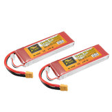 2St. ZOP Power 7,4 V 6000 mAh 45C 2S Lipo Batterie XT60 Stecker für RC-Rennwagen