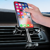 Bakeey Gravity Linkage Automatic Lock Air Vent Car Phone Holder 360 Degree Rotation For 4.0-6.5 Inch Smart Phone iPhone 11 Samsung Note 10