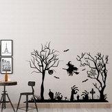 Miico FX3002 Bande Dessinée Autocollant Mural Sticker Halloween Autocollant Amovible Wall Sticker Décoration de la Chambre