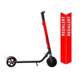 Adesivo impermeabile BIKIGHT per Xiaomi Ninebot ES1 ES2 ES3 ES4 Scooter elettrico per uso generico Adesivo per palo per scooter