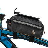 自転車フロントビームストレージバッグ携帯電話バッグ大容量マウンテンバイクバッグ多機能ツールバッグ