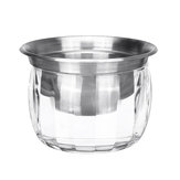 Stainless Steel Salad Cutter Dressing Dish Bowl Dips Condiment Sauce Serving Kitchen