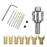 16pcs 14-25mm Wood Bead Maker Beads Drill Bit Milling Cutter Set Woodworking Tool