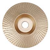 Drillpro Disco de tallado de madera de carburo de tungsteno de 110 mm Disco de tallado Rueda de amoladora de lijado de 16 mm para 100 Amoladora angular de 115 115