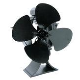 4 Лопасти Тепловая печь на дровах Вентилятор на дровах Камин Экологичный вентилятор Нет электричества