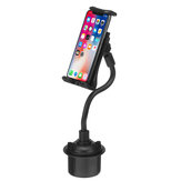 Universal 360 graders justerbar 21 cm fleksibel langarm Car Cup Holder Telefon Tablet Mount Stand Holder
